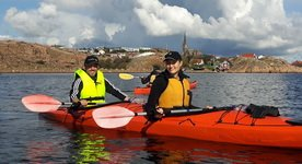 Kayak all year round with Outdoor West Sweden