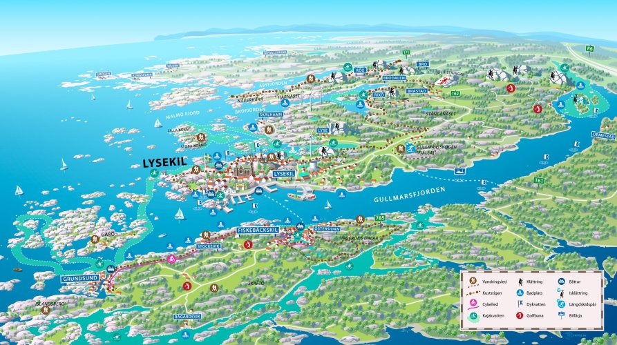 Lysekil is the outdoor destination of the Swedish west coast